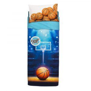 lenzuola basket di Bassetti con campo di pallacanestro